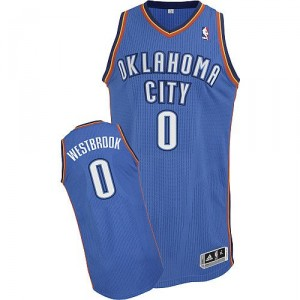 996ceb9d11cdb Bleu Royal Maillot NBA Russell Westbrook authentique masculin - Adidas Oklahoma  City Thunder # itinéraire 0